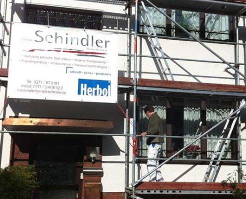 Altbausanierung Düsseldorf Malerbetrieb Schindler